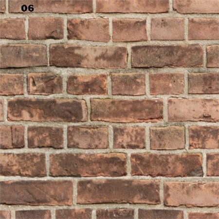 Papel de parade Adesivo 3d tijolos  /  3metros x 58cm