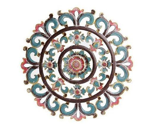 Mandala Flor Crisântemo - 60cm