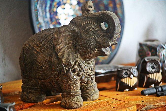 Elefante Pedra  Agadir alt. 25cm - Indonésia