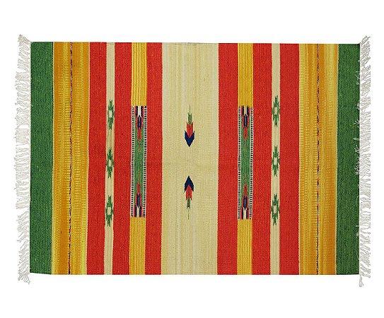 Tapete indiano -  Kilim  / 50cm x 70cm