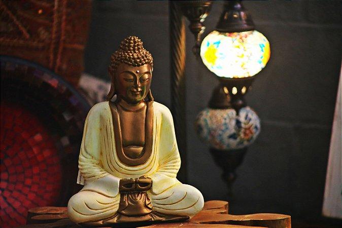 Buda Despertar - iluminação 33cm