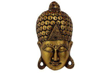 Máscara Buda gold 40cm
