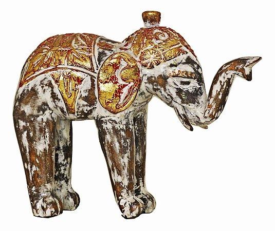 Elefante Indiano Gold - 25cm