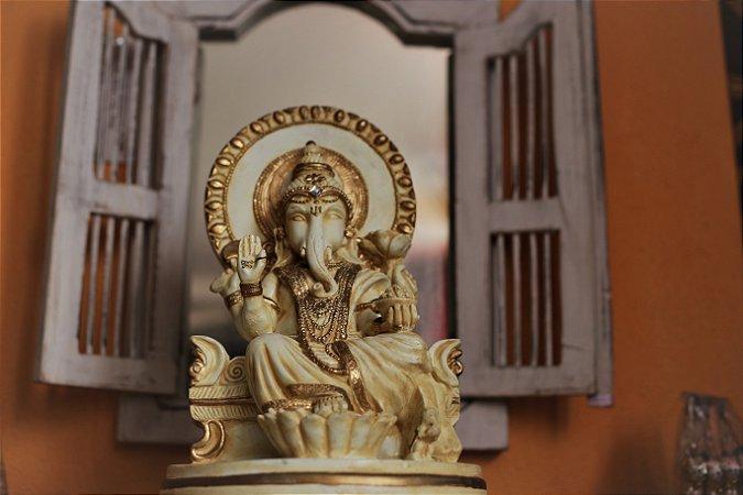 Ganesha Deus da sabedoria - (hindu)  35cm