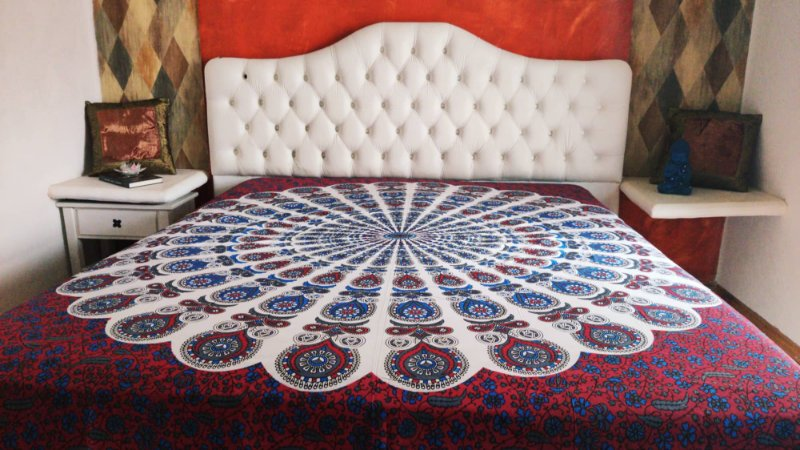 Manta painel mandala  indiana  -  2.30M x 2.10M