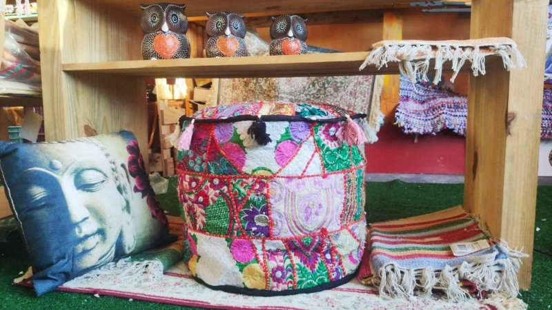 Puf indiano Boho Chic 45cm