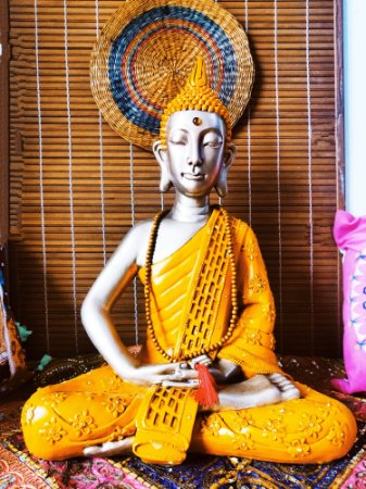 Buda Meditação e Sabedoria - 60cm