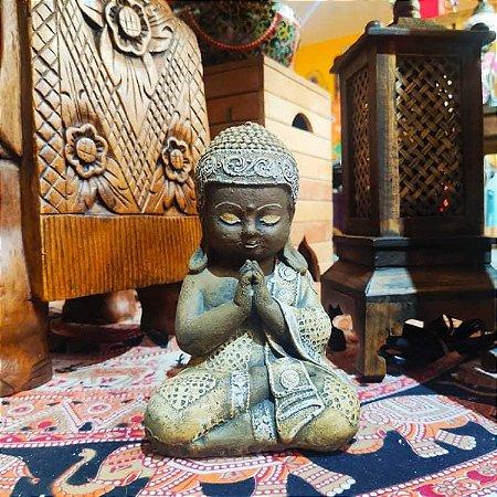 Buda Bebê Meditação - Pedra Tailândia  28cm