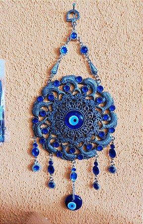 Amuleto Mandala olho turco/grego  (proteção)