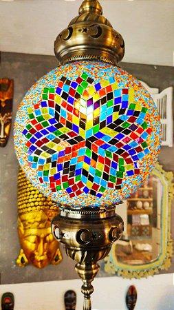 Lustre vitral Notre-Dame - Turquia 60cm