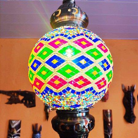 Lustre vitral Contemporary - Turquia 60cm
