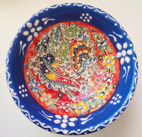 Tigela cerâmica da Turquia - 08cm