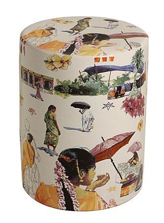 Garden Seat Tailândia - Porcelana