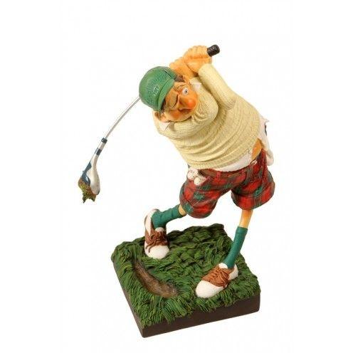 """Escultura - O Golfista 39cm   """" Artista plástico: Guillermo Forchino """""""