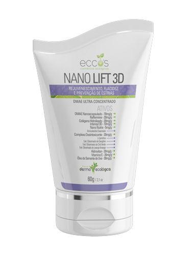 NANO LIFT 3D | 60 G - Eccos Cosméticos