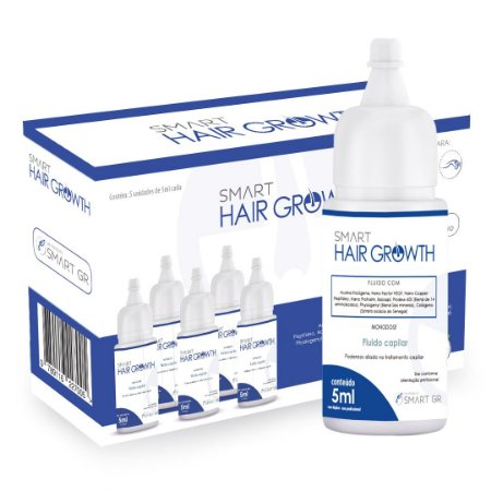 Smart Hair Growth - Terapia Capilar - 5 Monodoses de 5 mL - Smart GR