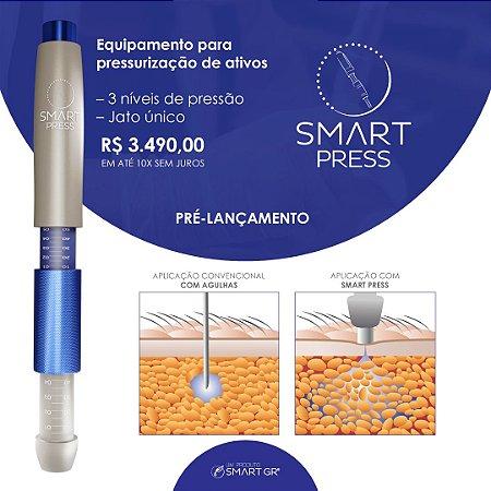 SMART PRESS X - Caneta Pressurizada Para Mesoterapia E Intradermoterapia 3 Níveis de Pressão - SMART GR