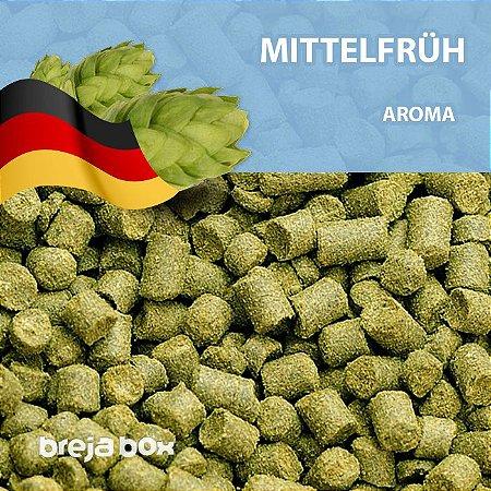 Lúpulo Hallertau Mittelfrüh - 50g em pellet