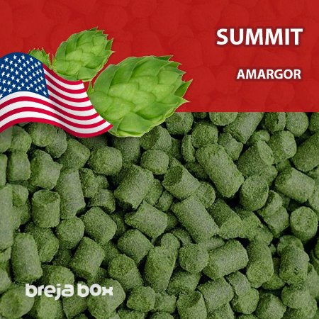 Lúpulo Summit kilo em pellet - Breja Box