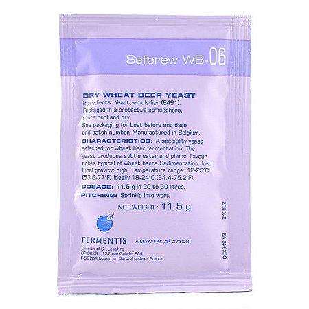 Fermento Safbrew WB-06 - Fermentis Breja Box