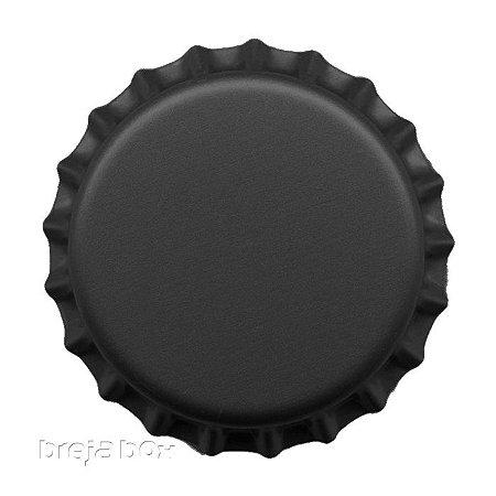 Tampinha de garrafa Preta - 100 unidades |PRY OFF - Breja Box