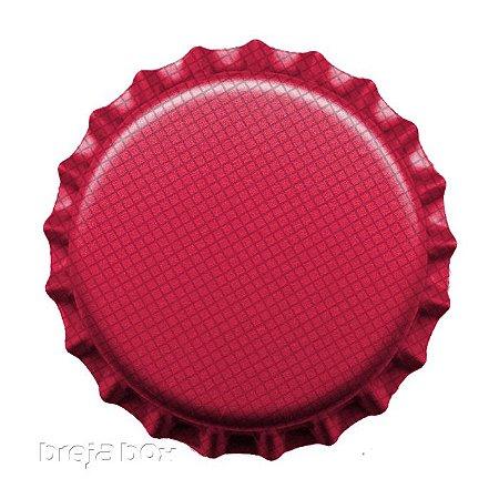 Tampinha de garrafa Rosa - 100 unidades |PRY OFF - Breja Box