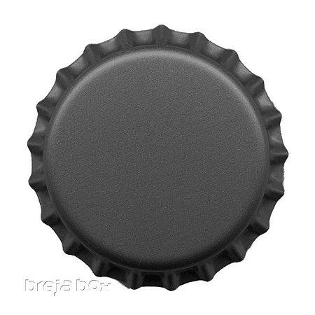 Tampinha de garrafa Cinza - 100 unidades |PRY OFF - Breja Box