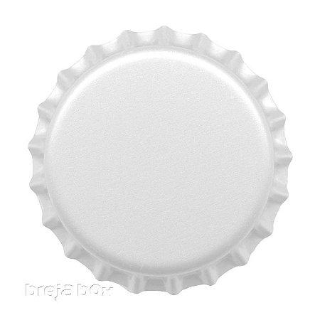 Tampinha de garrafa Branca - 100 unidades |PRY OFF - Breja Box