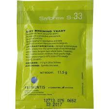 Fermento SafBrew S-33 - Fermentis Breja Box