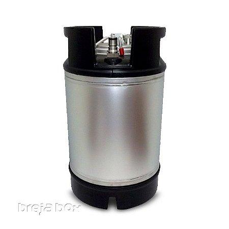 Barril Post Mix Ball Lock 9,5 litros - Breja Box