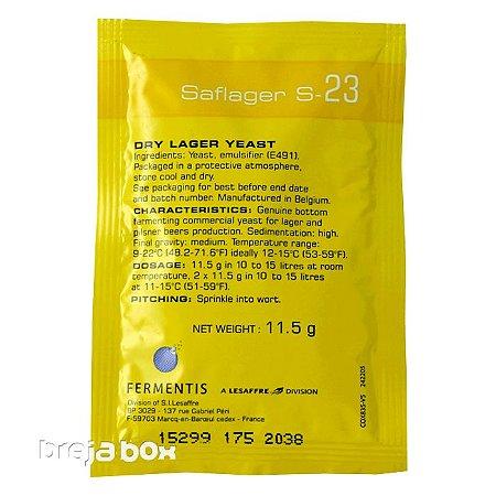 Fermento Saflager S-23 - Fermentis Breja Box