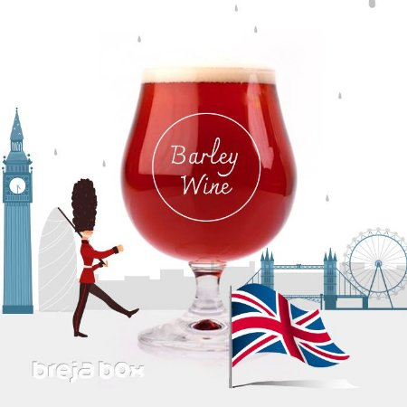 Barley Wine kit receita - Breja Box