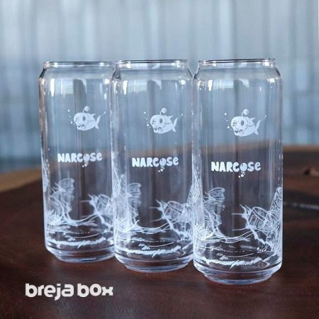Copo Lata 473ml Barrel Aged da Cervejaria Narcose | Breja Box
