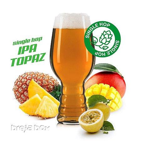 IPA Single Topaz kit receita - Breja Box