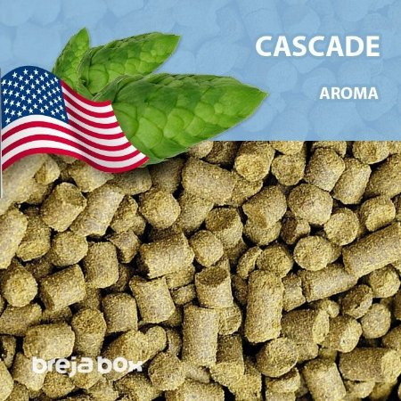Lúpulo Cascade - Kilo em pellet