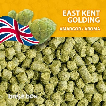 Lúpulo East Kent Golding - 50g em pellet