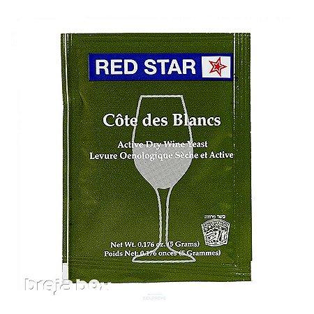 Fermento Cote Des Blancs - Red Star Breja Box