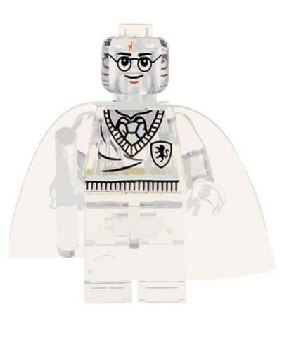 Boneco Compatível Lego Harry Potter Capa Invisibilidade - Harry Potter