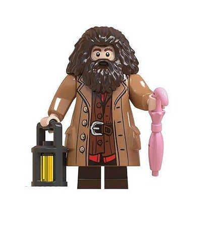 Boneco Compatível Lego Rúbeo Hagrid - Harry Potter (Edição Especial)