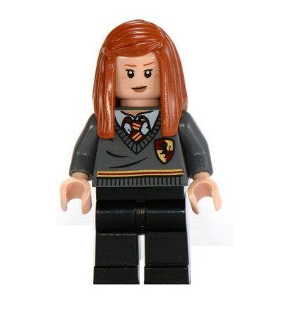 Boneco Compatível Lego Gina Weasley - Harry Potter
