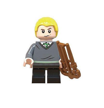 Boneco Compatível Lego Draco Malfoy - Harry Potter