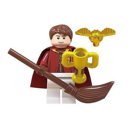 Boneco Compatível Lego Olíver Wood - Harry Potter (Edição Especial)