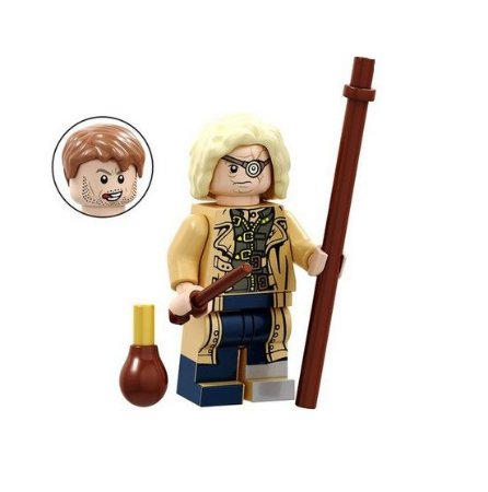 Boneco Compatível Lego Alastor Moody - Bartolomeu Crouch Jr - Harry Potter (Edição Especial)
