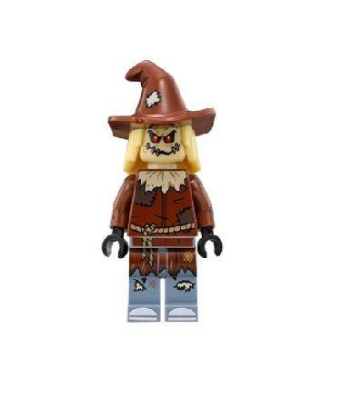 Boneco Compatível Lego Espantalho - Dc Comics