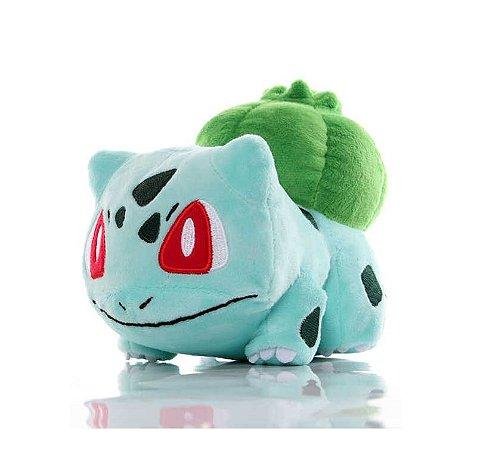 Pelúcia Pokémon Bulbasaur 16 Cm
