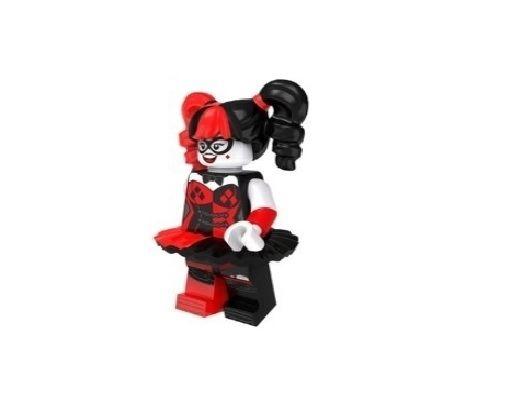 Boneco Compatível Lego Arlequina Bailarina - Dc Comics