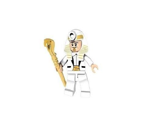 Boneco Compatível Lego Rei Tut - Dc Comics