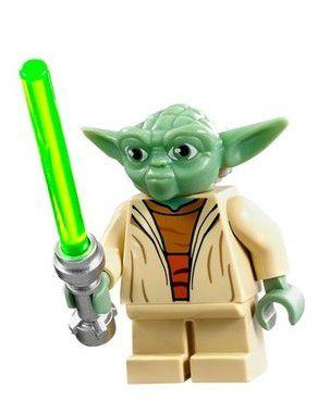 Boneco Yoda Star Wars Lego Compatível