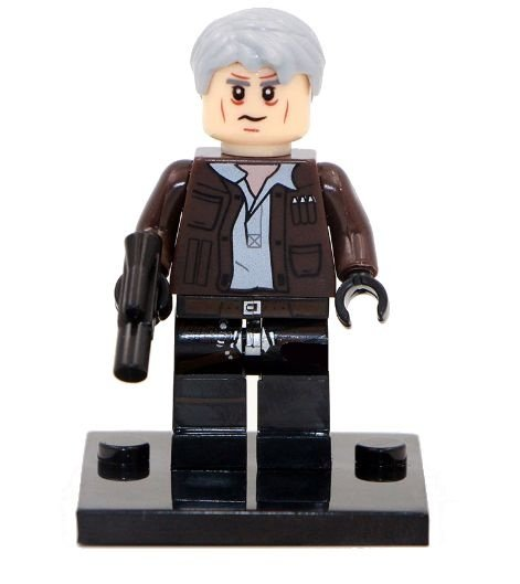 Mini Figura Compatível Lego Han Solo Star Wars
