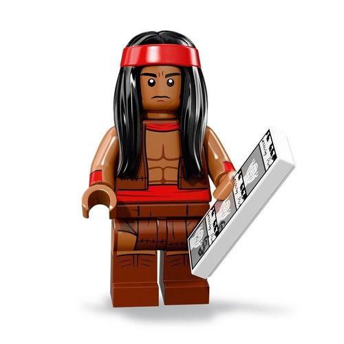 Boneco Compatível Lego Chefe Apache - Dc Comics